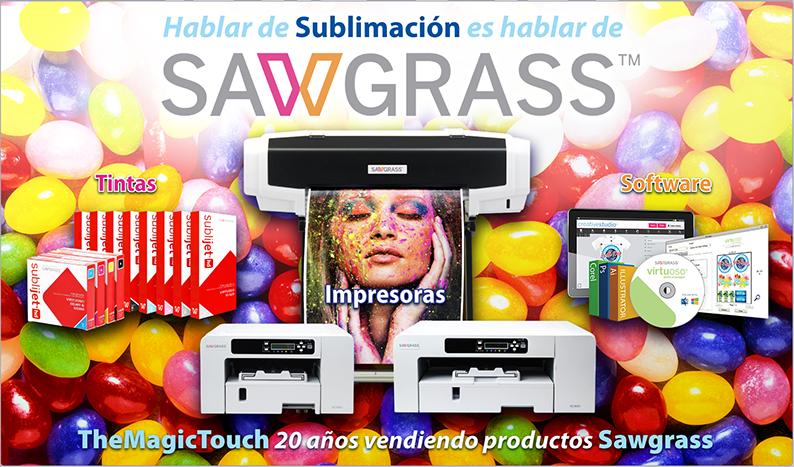 Productos Sawgrass para Sublimación