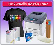 pack estrella transfer láser
