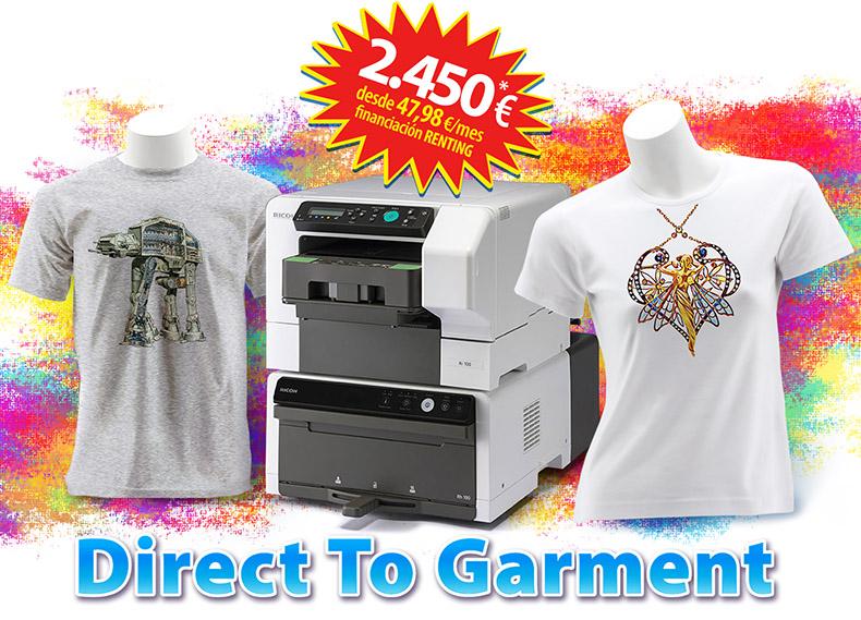 Nueva Impresora Ricoh Ri 100 DTG